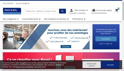 Site internet de Rexel France