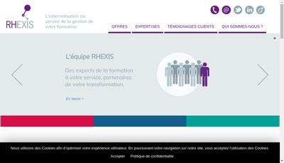 Site internet de Rhexis