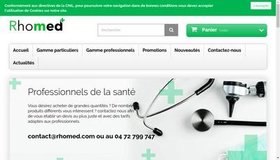 Site internet de Rhomed