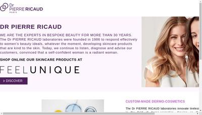 Site internet de Dr Pierre Ricaud - Id Parfums - Daniel Jouvance