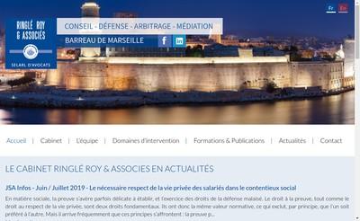 Site internet de Ringle Roy & Associes