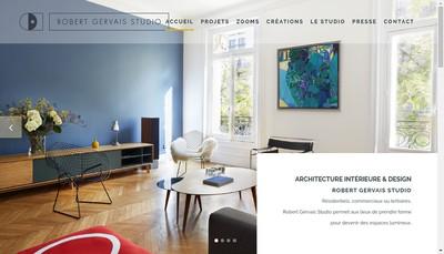 Site internet de Robert Gervais Studio