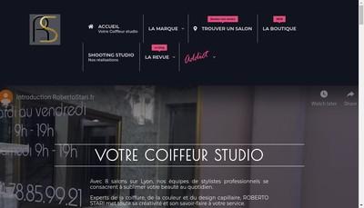 Site internet de Roberto Stari