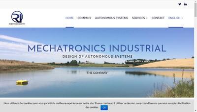 Site internet de Robotics Industry