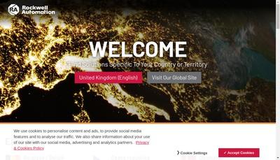 Site internet de Rockwell Automation SAS