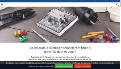Site internet de Rogelec