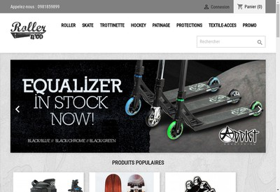 Site internet de Roller'N Co