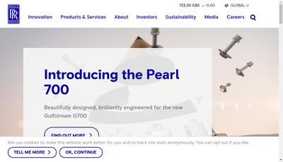 Site internet de Kongsberg Maritime France