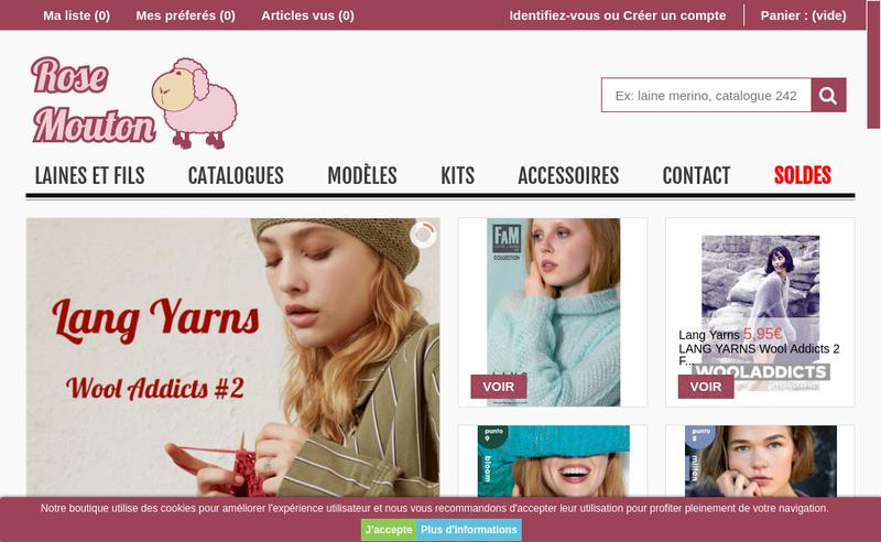 Capture d'écran du site de Orxata