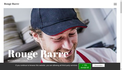 Site internet de Rouge Barre
