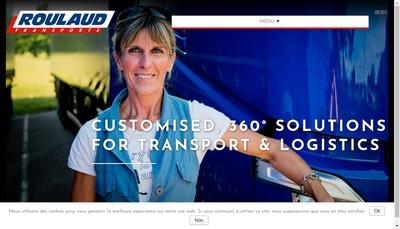 Site internet de Roulaud Transports