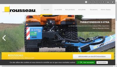 Site internet de Rousseau
