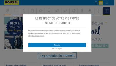 Site internet de Rouxel