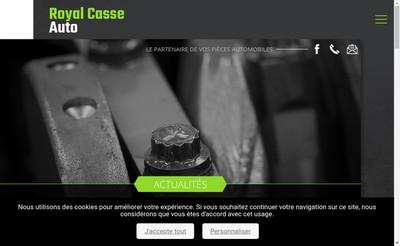 Site internet de Royal Casse Auto Service