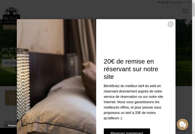 Capture d'écran du site de Grand Frais