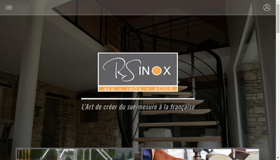 Site internet de Rs Inox