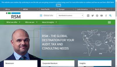 Site internet de Rsm Ouest