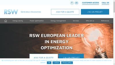 Site internet de Rsw Net