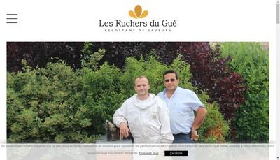 Site internet de Les Ruchers du Gue