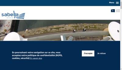 Site internet de Sabella