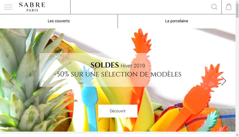 Capture d'écran du site de Sabre