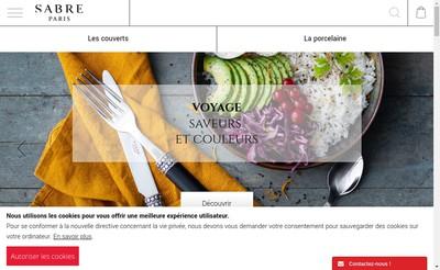 Site internet de Sabre
