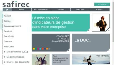 Site internet de Safirec Conseil