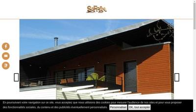 Site internet de Safran Cb