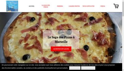 Site internet de La Saga des Pizzas