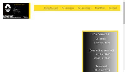 Site internet de Saint-Renan Auto