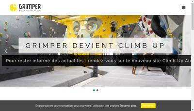 Site internet de Grimper