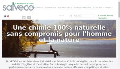 Site internet de Salveco