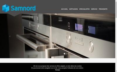 Site internet de Samnord