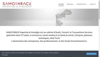 Site internet de Spec Expertise - Samothrace