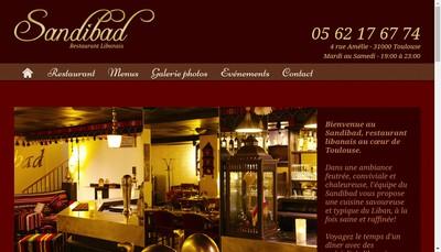 Site internet de Sandibad