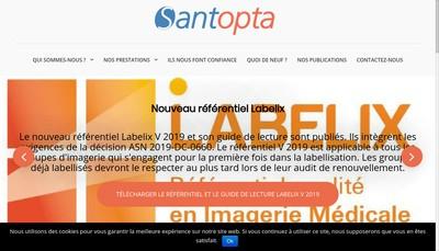 Site internet de Santopta