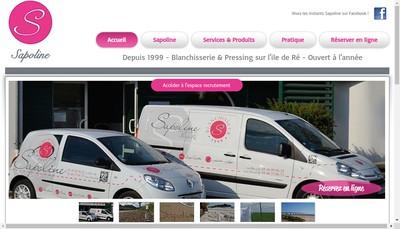 Site internet de Sapoline