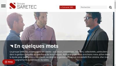 Site internet de Saretec France