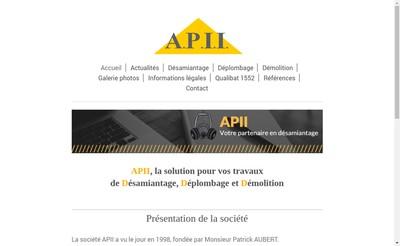 Site internet de Assistance Protection Incendie Isolation