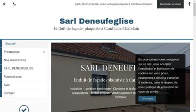 Site internet de SARL Deneufeglise