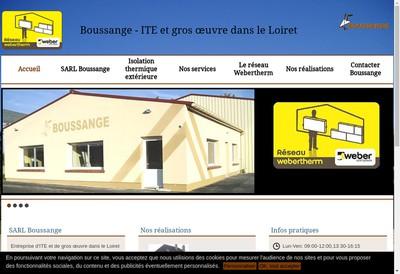 Site internet de Boussange Freres SARL