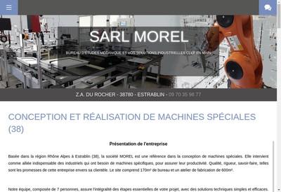 Site internet de Morel