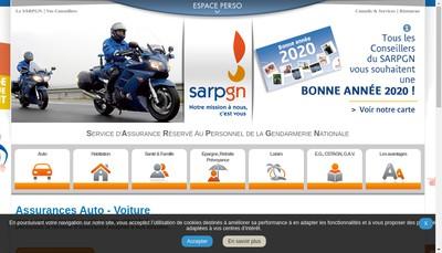 Site internet de Sarpgn