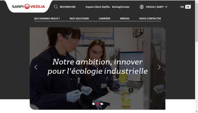 Capture d'écran du site de Sonolub