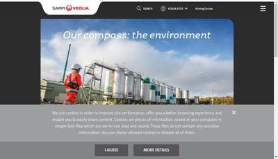 Site internet de Sarp Industries Rhone Alpes