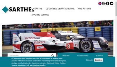 Site internet de Contact Agenge d'Emploi