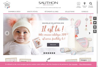 Site internet de Sauthon Industries