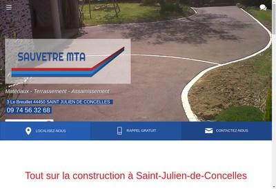 Site internet de Sauvetre MTA