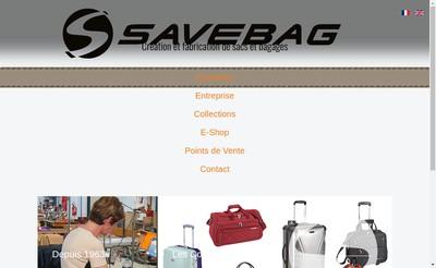 Site internet de SAVEBAG