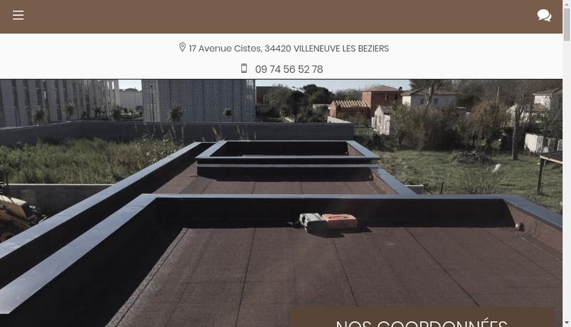 Capture d'écran du site de SBE